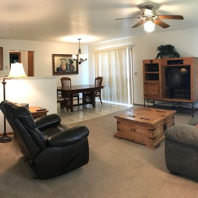 Furnished House Living Room